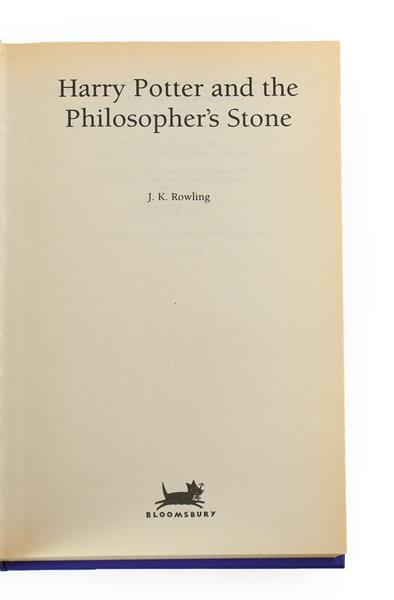 Rowling (J. K.). Harry Potter and the Philosopher's Stone, London: Bloomsbury, 1997. 8vo, original - Image 3 of 13