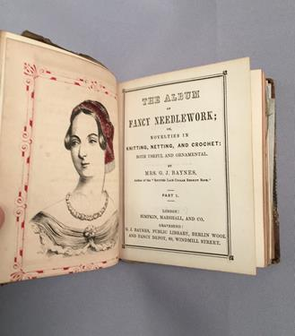 Baynes (Mrs G. J.). [Sammelband of knitting and needlework manuals], London: Simpkin, Marshall & - Image 4 of 9