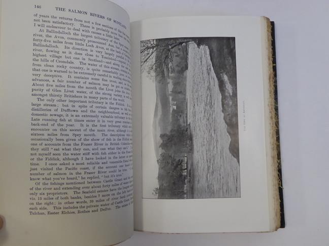 Bindings. 1) The Salmon Rivers and Lochs of Scotland. By W. L. Calderwood, 1st edition, London: - Image 6 of 15