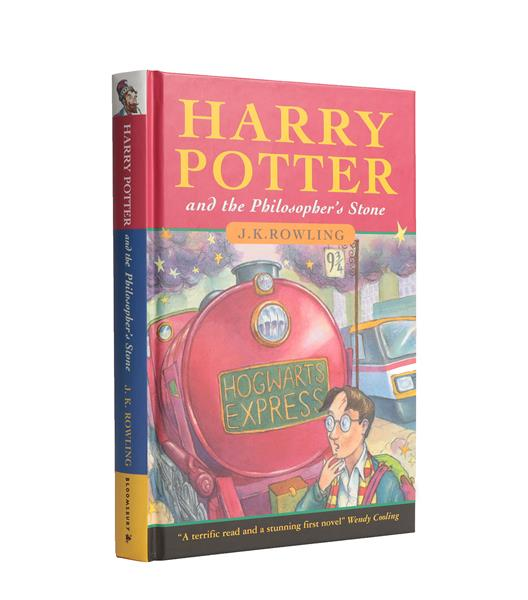 Rowling (J. K.). Harry Potter and the Philosopher's Stone, London: Bloomsbury, 1997. 8vo, original