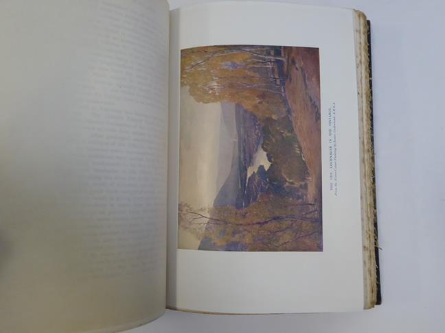 Bindings. 1) The Salmon Rivers and Lochs of Scotland. By W. L. Calderwood, 1st edition, London: - Image 5 of 15