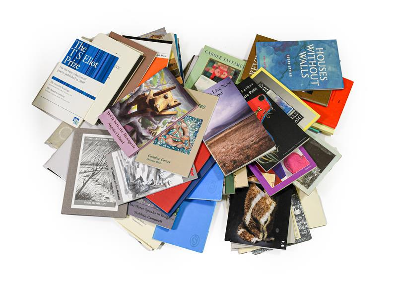 Poetry. A large collection of poetry pamphlets, c.2000-2015, approx. 150 in total, published by