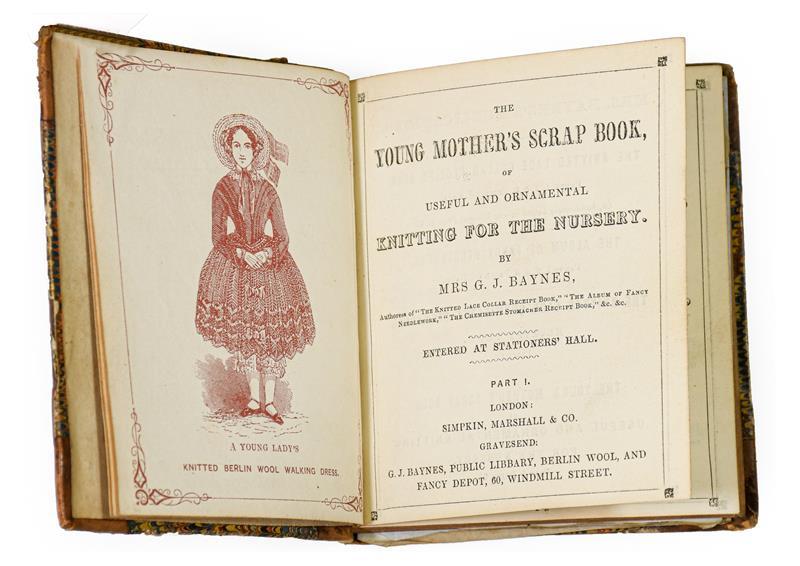 Baynes (Mrs G. J.). [Sammelband of knitting and needlework manuals], London: Simpkin, Marshall &
