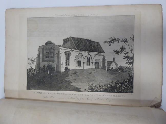 Davis (J. Scarlett). Twelve Views in Lithography, of Bolton Abbey,. Wharfedale, Yorkshire, 1st - Image 3 of 5