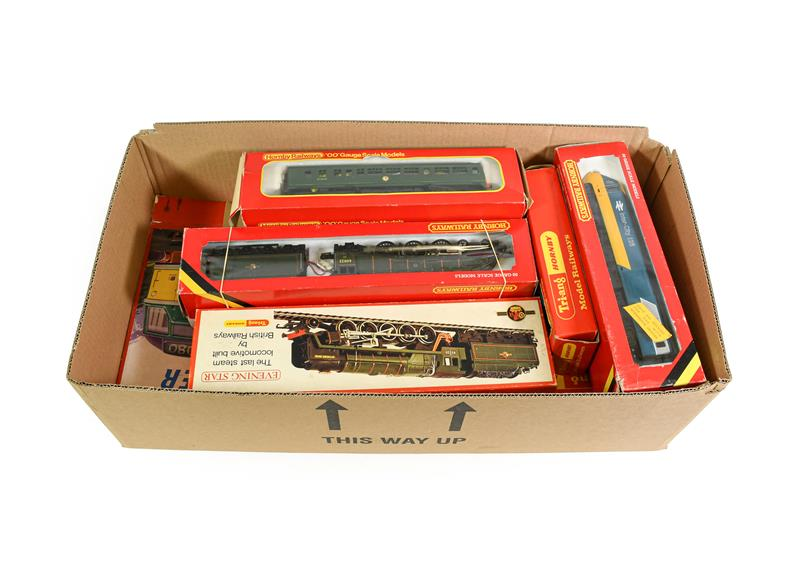 Hornby/Triang OO Gauge Locomotives The Freightmaster set with Cock O' The North locomotive (G-E