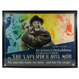 The Lavender Hill Mob (1951) Film Poster 'The Men Who Broke The Bank - And Lost The Cargo!' starring