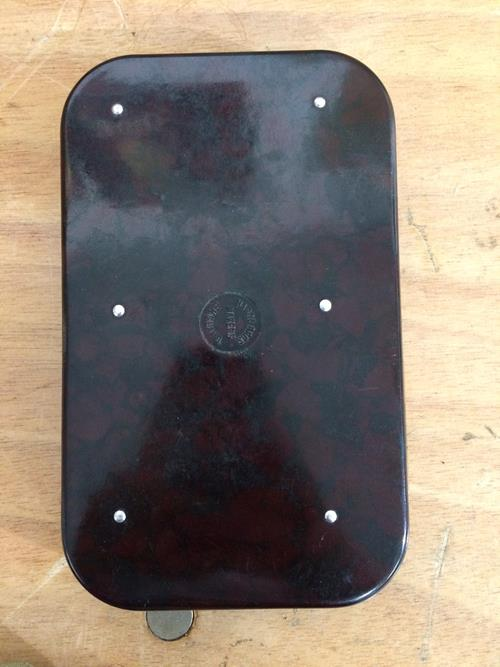 A Hardy Neroda Bakelite Fly Box fitted internally with spring clips and another similar Hardy Neroda - Image 3 of 9