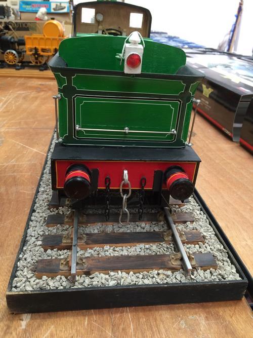 3 3/4'' Gauge Static Model Of Stockton & Darlington Railway 0-6-0 Bouch Class 1001 Locomotive And - Image 8 of 20