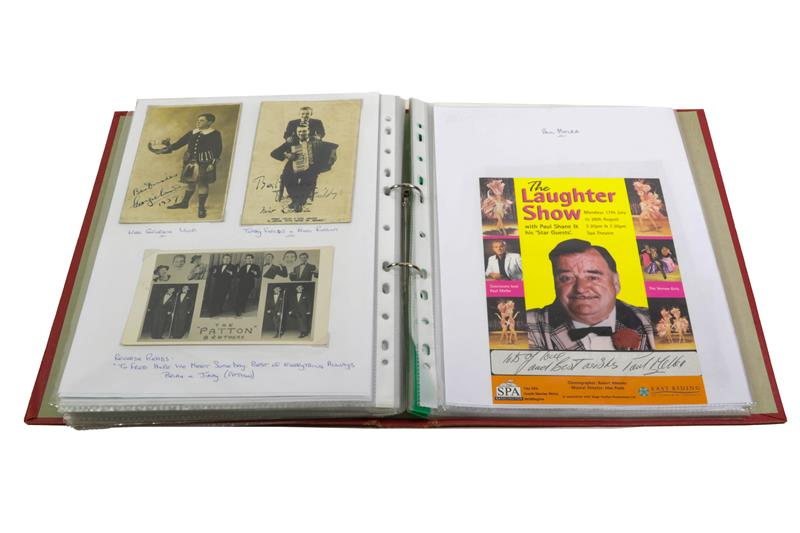 Various Show Business Signatures, Signed Photographs And Letters including The Nolan Sisters, John - Image 2 of 2