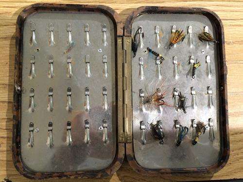 A Hardy Neroda Bakelite Fly Box fitted internally with spring clips and another similar Hardy Neroda - Image 6 of 9