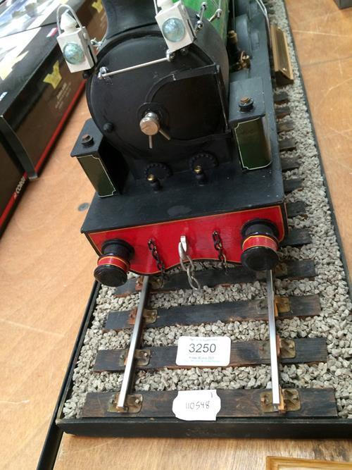 3 3/4'' Gauge Static Model Of Stockton & Darlington Railway 0-6-0 Bouch Class 1001 Locomotive And - Image 9 of 20