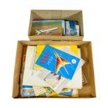 BOAC Paperwork including Hotelympia 1964, Speedbird Companion folders, India and Gulf States