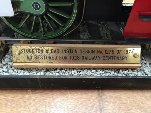 3 3/4'' Gauge Static Model Of Stockton & Darlington Railway 0-6-0 Bouch Class 1001 Locomotive And - Image 15 of 20