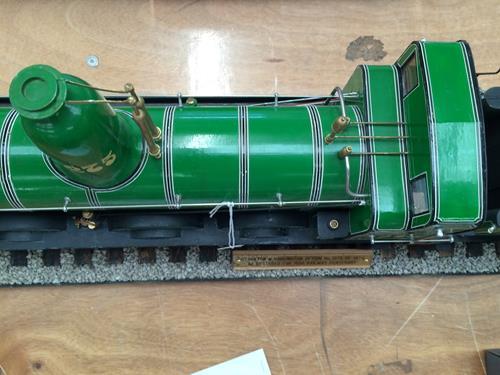 3 3/4'' Gauge Static Model Of Stockton & Darlington Railway 0-6-0 Bouch Class 1001 Locomotive And - Image 12 of 20
