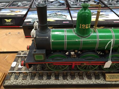 3 3/4'' Gauge Static Model Of Stockton & Darlington Railway 0-6-0 Bouch Class 1001 Locomotive And - Image 5 of 20