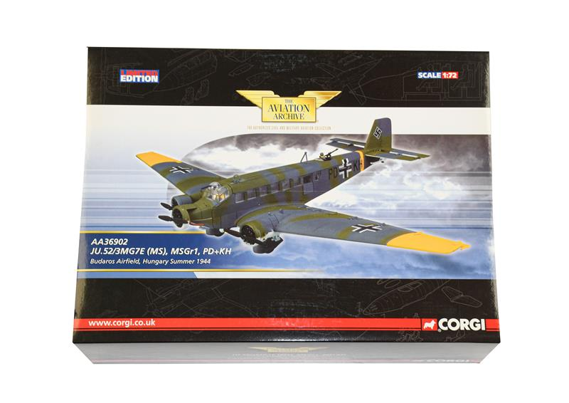 Corgi Aviation Archive AA36902 1:32 Scale Junkers Ju52/3 (E box E-G)