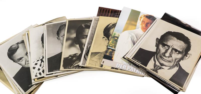 Publicity Photographs A Collection Of Various 11x14'' And Similar Sized Photographs including Mae
