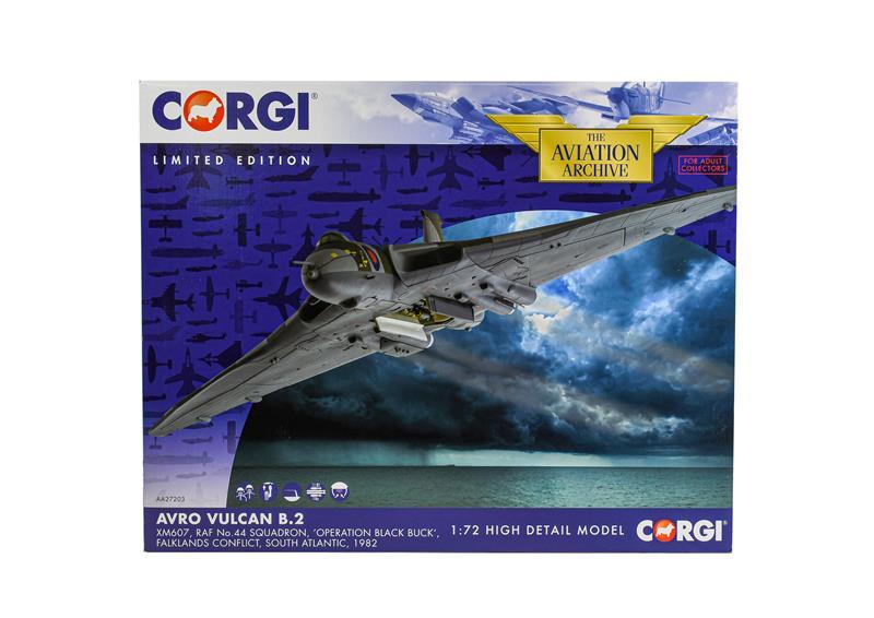 Corgi Aviation Archive AA27203 1:72 Scale Avro Vulcan B2 (E box E)