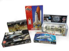 Space Related Kits Airfix 1:144 Scale Space Shuttle, Revell 1:48 Apollo Lunar Module Eagle, Revell