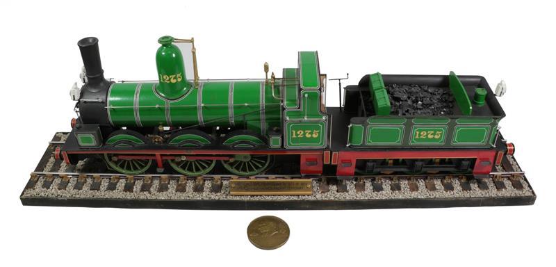 3 3/4'' Gauge Static Model Of Stockton & Darlington Railway 0-6-0 Bouch Class 1001 Locomotive And