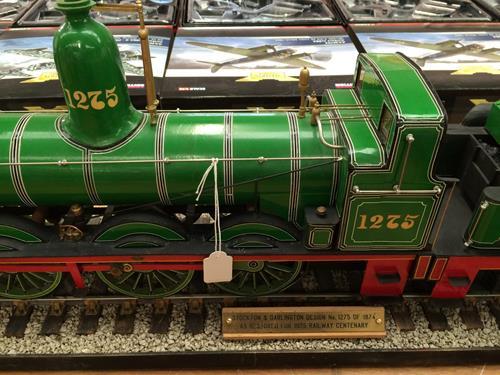 3 3/4'' Gauge Static Model Of Stockton & Darlington Railway 0-6-0 Bouch Class 1001 Locomotive And - Image 6 of 20