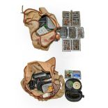 A Collection Of Mixed Tackle comprising of a Brass 4 1/4'' fly reel by Macleay of Inverness, A