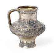 A Russian Silver-Gilt and Niello Drinking-Vessel, by Pavel Ovchinnikov, Moscow, 1874, baluster and
