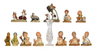 A quantity of mixed collectables including glassware etc, including Wedgwood, Swarovski, Border Fine