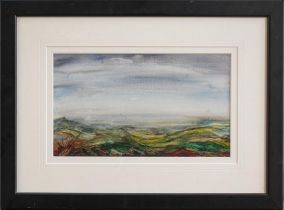 Simon Dawson (Contemporary) Three signed watercolour views and one mixed media, purchased at the