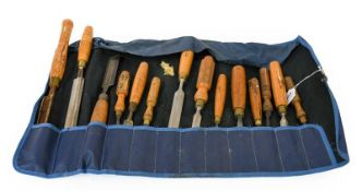 Woodworking Tools chisels and gouges by various makes including Mawhood. Marples, Sorby, Ward and
