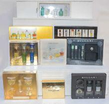 Nine boxed perfume scent bottle scents including Bulgari, Estee Lauder and Dolce & Gabbana (9)