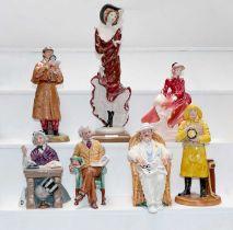 Royal Doulton figures - HN2359 The Detective; HN2945 Pride & Joy; HN2680 Taking Things Easy;