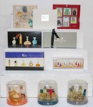 Boxed perfume gift sets including Bulgari, Loewe, Molton Brown, Penhaligons and six mixed sets of