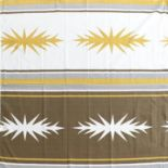 Paule Vézelay for Heal's: A Duet Pattern Fabric Length or Panel, designed 1955, screen printed,