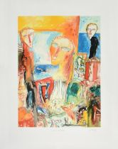 John Bellany CBE, RA (1942-2013) Scottish ''Celtic Maiden'' Signed, inscribed and numbered 1/6,