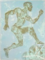 Dame Elisabeth Frink CH, DBE, RA (1930-1993) ''Running Man'' (1988) Signed and numbered 40/70,