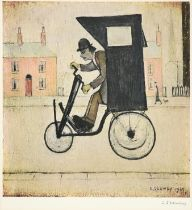 After Laurence Stephen Lowry RBA, RA (1887-1976) ''The Contraption'' Signed, with the blindstamp for