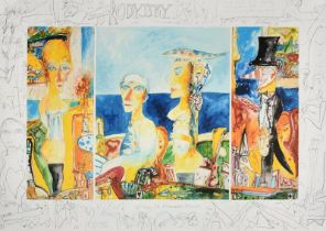 John Bellany CBE, RA (1942-2013) Scottish ''Odyssey'' Signed and dated (19)98, numbered IV/X,