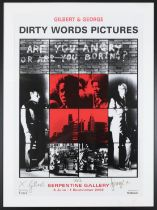 After Gilbert and George (b.1943 & 1942) ''Dirty Words Pictures'', Serpentine Gallery, 6 June - 1