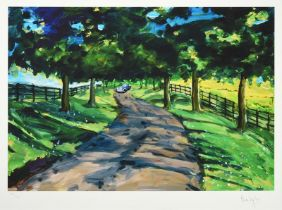 Bob Dylan (b.1941) American ''Kentucky Pathway'' Signed and numbered 202/295, giclee print from ''