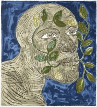 Dame Elisabeth Frink CH, DBE, RA (1930-1993) ''Green Man'' (1992) Each signed and numbered 62/70,