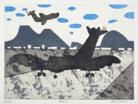 Julian Trevelyan RA (1910-1988) ''Runway'' (1975) Signed, inscribed and numbered 42/52, etching with