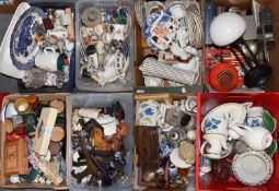 A very large quantity of household items, ceramics, glass, and metalwares, etc, to include