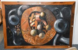 """Tom Guy (Contemporary) """"Celtic Echoes"""", signed..."""