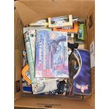 A quantity of Power Rangers by Ban Di together with various boxes Diecast cars, loose toys etc