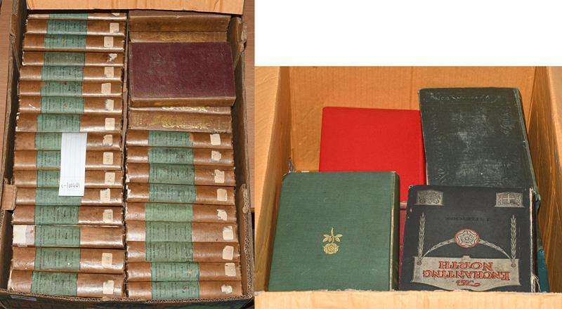Scott (Walter). The Miscellaneous Prose Works, Edinburgh: Robert Cadell, 1834-6. 27 volumes of 28 (