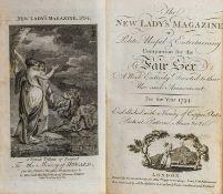 New Lady's Magazine, 5 volumes, 1792-6, & Kinnersley, Matrimonial Miscellany, 1818-19