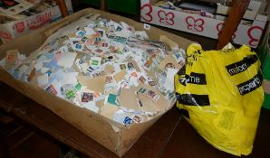 Large quantity of loose stamps, mainly British