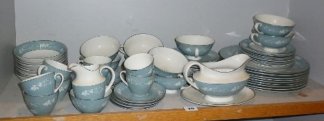 Royal Doulton 'Reflections' china dinner and coffee service