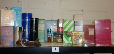 Collection of vintage boxed perfumes, Givenchy, Christian Dior etc